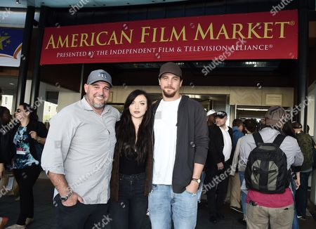 "Kevin Goetz, Director of ""A Violent Separation"", Francesca Fisher-Eastwood and Ben Robson"