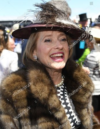 Gai Waterhouse is seen after Stephen Baster rode Cismontane to victory in the Lexus Stakes on Derby Day at Flemington racecourse in Melbourne, 04 November 2017.