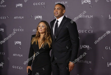 Tamia and Grant Hill