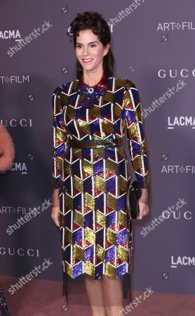 Jami Gertz arrives at the LACMA Art + Film Gala at the Los Angeles County Museum of Art on in Los Angeles