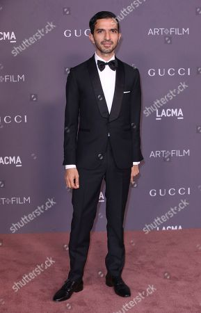 Imran Amed arrives at the LACMA Art + Film Gala at the Los Angeles County Museum of Art on in Los Angeles