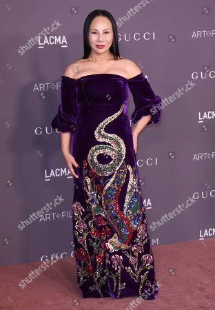 Stock Photo of Eva Chow arrives at the LACMA Art + Film Gala at the Los Angeles County Museum of Art on in Los Angeles