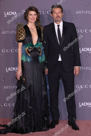 Michelle Alves, Guy Oseary. Michelle Alves, left, and Guy Oseary arrive at the LACMA Art + Film Gala at the Los Angeles County Museum of Art on in Los Angeles