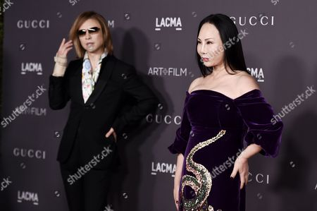 Editorial picture of LACMA: Art and Film Gala, Arrivals, Los Angeles, USA - 04 Nov 2017