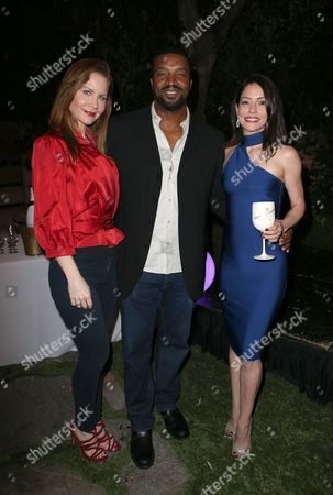 Stock Image of Josie Davis, Roger Cross, Emmanuelle Vaugier