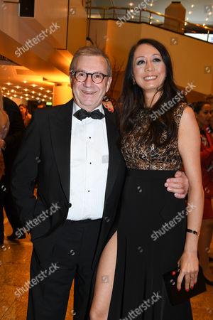 Jan Hofer mit partner Phong Lan