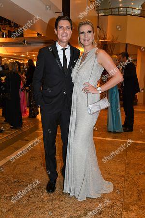 Maria Hoefl-Riesch mit Ehemann Marcus Hoefl