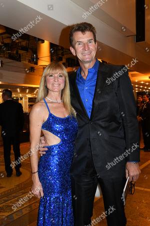 Michael Gross and Ehefrau Ilona