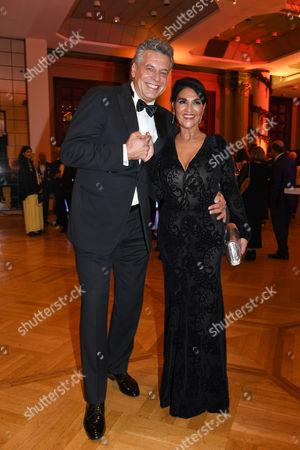 Juergen Hingsen mit Ehefrau Francesca Elstermeier..