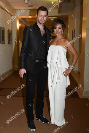 Stock Image of Nazan Eckes mit Ehemann Julian Khol