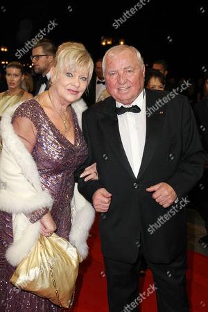 Ulli Wegner mit Ehefrau