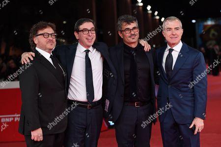 Marco Belardi, Antonio Monda, Paolo Genovese and Giampaolo Letta