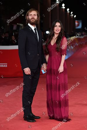 Alessandro Borghi and his girlfriend Roberta Pitrone