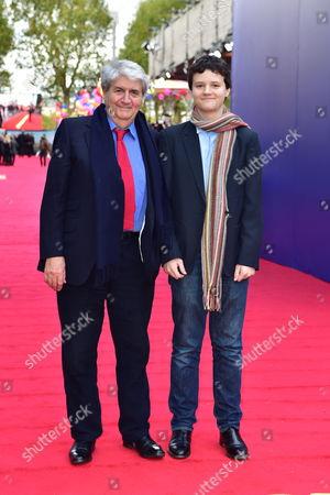 Tom Conti and his grandson Arthur