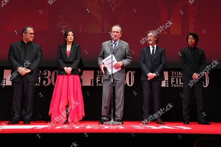 Stock Picture of (L-R) Reza Mirkarimi, Vicki Zhao, Vicki Zhao, Martin Provost, Masatoshi Nagase