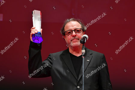 "Stock Image of Director Semih Kaplanoglu wins ""Tokyo Grand Prix/The Governor of Tokyo Award"" for the film ""Grain"""