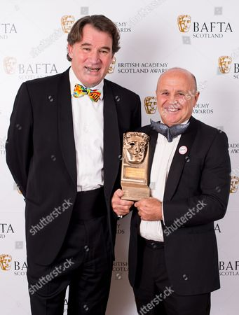 Stock Picture of Alastair Fothergill and Doug Allan - Outstanding Contribution to Craft