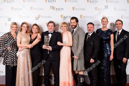 Morven Christie, Nicole Cauverien, Joe Ahearne, Kim Allan, Richard Rankin, Mark Leese, Suzanne Mackie - Left Bank Pictures/BBC One - Television Scripted - The Replacement with citation readers Sharon Small & Derek Riddell