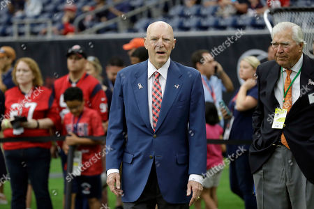 sale retailer 9be57 95a16 Houston Texans owner Bob McNair before an NFL football game against the  Indianapolis Colts, in