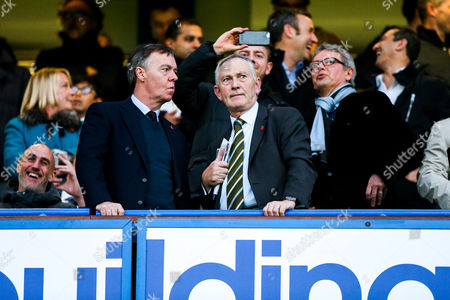 Premier League Chief Executive Richard Scudamore looks on- Rogan/JMP