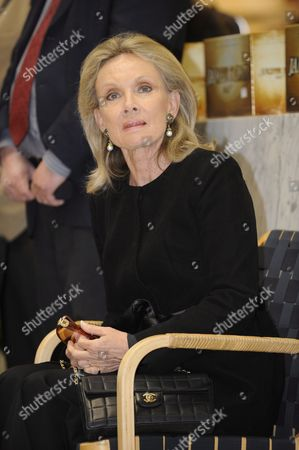 The wife of Sir Roger Moore, Christina Tholstrup