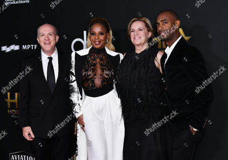 Cassian Elwes, Mary J Blige, Kim Roth and Charles D. King