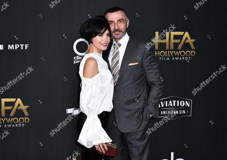Stock Image of Lorena Toub and Shaun Toub