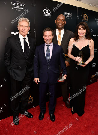 Editorial photo of Hollywood Film Awards, Press Room, Los Angeles, USA - 05 Nov 2017