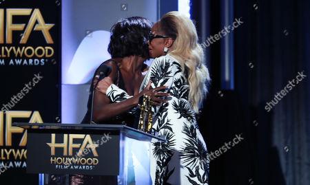 Viola Davis and Mary J Blige