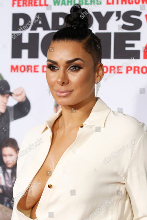 "Laura Govan arrives at the LA Premiere of ""Daddy's Home 2"" at the Regency Village Theatre, in Los Angeles"