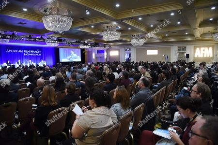 Editorial photo of American Film Market 2017 - Day 5 at the Fairmont Hotel, Los Angeles, USA - 05 Nov 2017