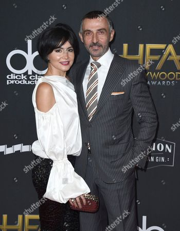 Lorena Toub, Shaun Toub. Lorena Toub, left, and Shaun Toub arrive at the Hollywood Film Awards at the Beverly Hilton hotel, in Beverly Hills, Calif
