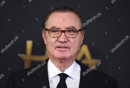 Stock Picture of Carlos de Abreu arrives at the Hollywood Film Awards at the Beverly Hilton hotel, in Beverly Hills, Calif