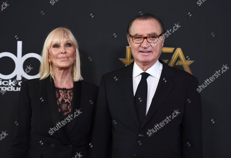 Carlos de Abreu, Janice Pennington. Carlos de Abreu, right, and Janice Pennington arrive at the Hollywood Film Awards at the Beverly Hilton hotel, in Beverly Hills, Calif