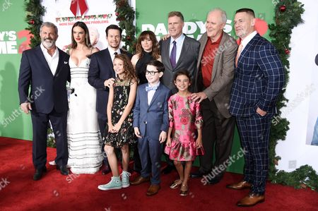 Mel Gibson, Alessandra Ambrosio, Mark Wahlberg, Linda Cardellini, Will Ferrell, John Lithgow, John Cena, Didi Costine, Owen Vaccaro and Scarlett Estevez