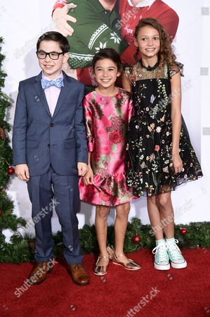 Owen Vaccaro, Scarlett Estevez and Didi Costine