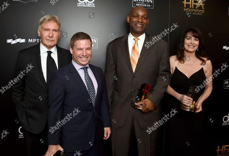 Editorial picture of 2017 Hollywood Film Awards - Press Room, Beverly Hills, USA - 05 Nov 2017