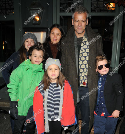 Guests, Susie Lewis and Rupert Graves