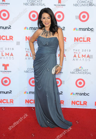 Patricia Rae arrives at the 2013 NCLR ALMA Awards at Pasadena Civic Auditorium in Pasadena, CA on