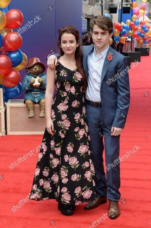 Stock Photo of Madeleine Harris and Samuel Joslin
