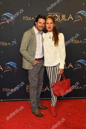 Doreen Dietel mit Ehemann Tobias Guttenberg,