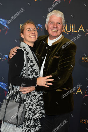 Stock Picture of Thomas Stein mit Ehefrau Cornelia,