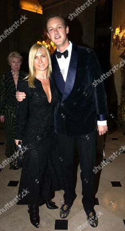 Stock Photo of Meg Mathews and Lord Edward Spencer-Churchill