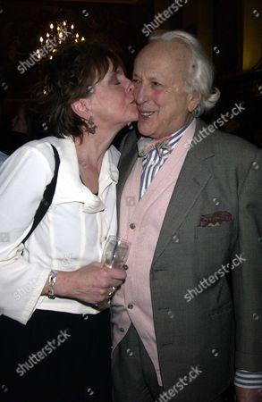 Lucinda Lambton with her husband Peregrine Worsthorne