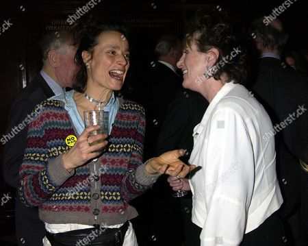 Tracy Somerset, Marchioness of Worcester and Lucinda Lambton