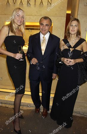 Julienne Davis, Edmond Avakian and Kaja Wunder