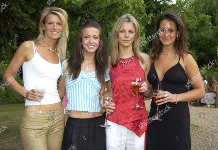Malin Herdenfeldt, Charlotte Stewart-Brown, Sophia Chance and Alex Pakenham