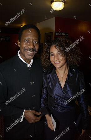 Errol Brown with his wife Ginette Brown
