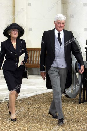 Lord Cecil Parkinson with his wife Lady Ann Parkinson