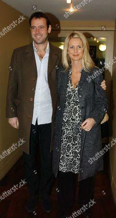 Ulrika Jonsson with her husband, Lance Gerrard-Wright